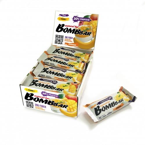 "Bombbar со вкусом ""банановый пудинг с манго"" 60 гр"