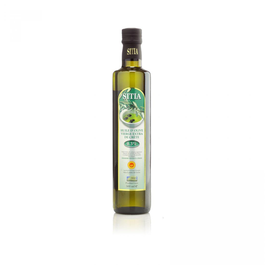 Оливковое масло SITIA - 500 мл 0.3 экстра вирджин PDO стекло