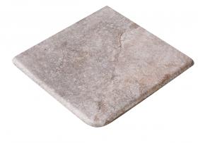 Ступень угловая Esquina Rocks Gris 33×33