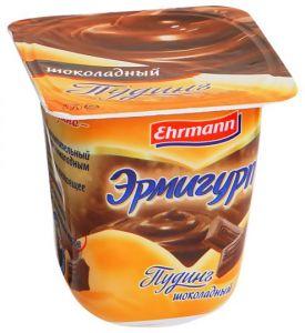 Пудинг Эрмигурт Ehrmann молочный Шоколадный 3,2%, 100г