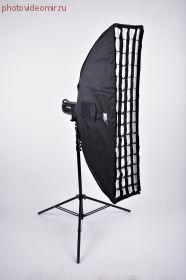 Софтбокс FST SB-240 30x120cm с сотовой решеткой