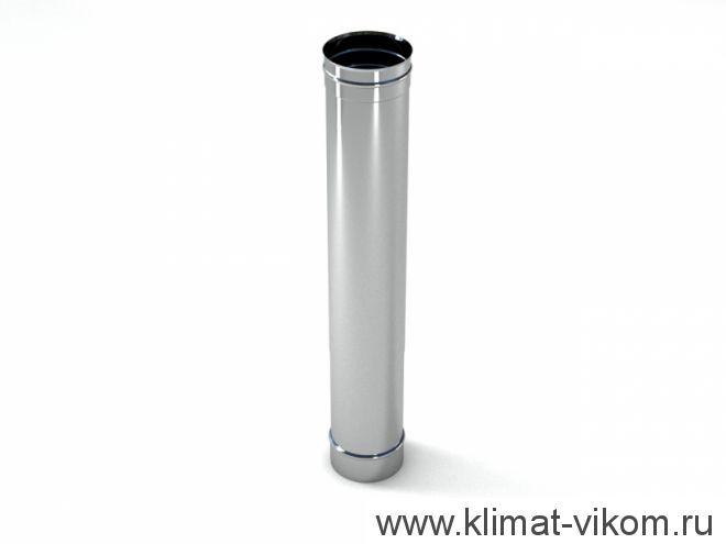 Труба ф 100,  0,25м, AISI 439/0,5мм