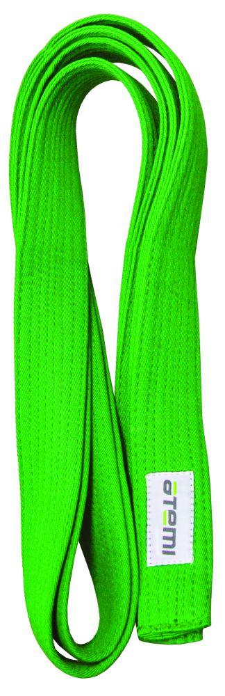 Пояс для кимоно ATEMI 280 см зеленый