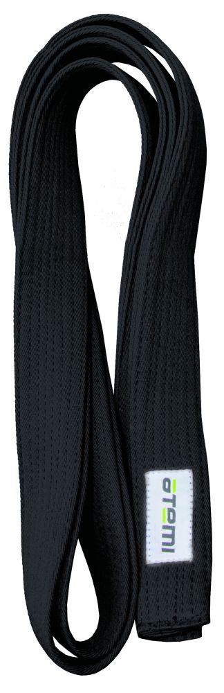 Пояс для кимоно ATEMI 280 см черный