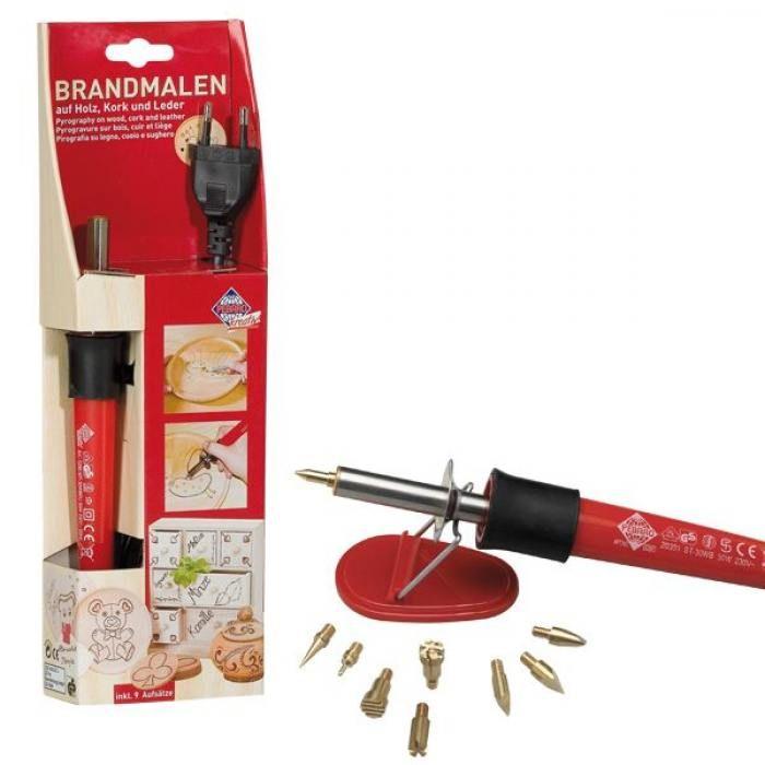 Прибор для выжигания Pebaro 9 насадок Brandmalen