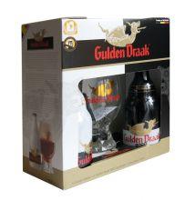 Пивной набор Gulden Draak 2*0,33 + бокал