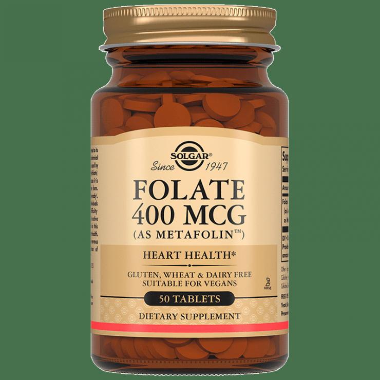Фолат (Метафолин) 400 мкг, 50 табл