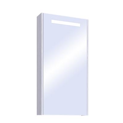 Шкаф с зеркалом для ванной Акватон Верди 50 / 1A195802VDAV0 (белый/ясень фабрик)