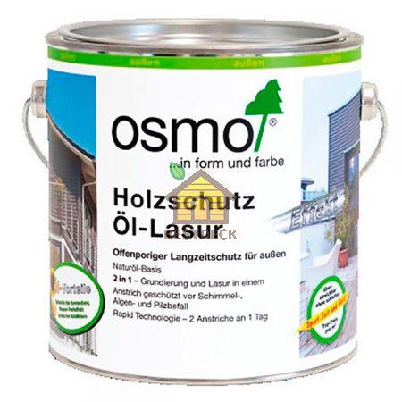 Защитное масло-лазурь для древесины с эффектом серебра HolzSchutz Ol-Lasur Effekt