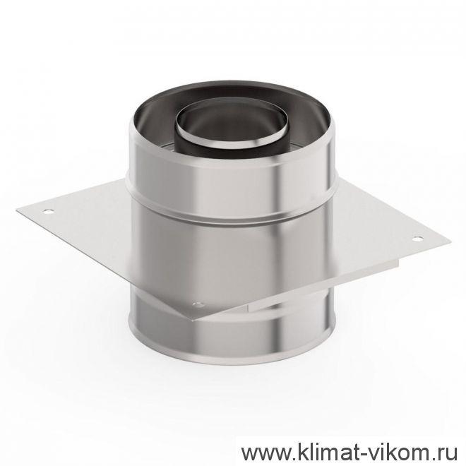 Монтажная площадка ф 130х200, AISI 439/Оц, 1,0мм/0,5мм
