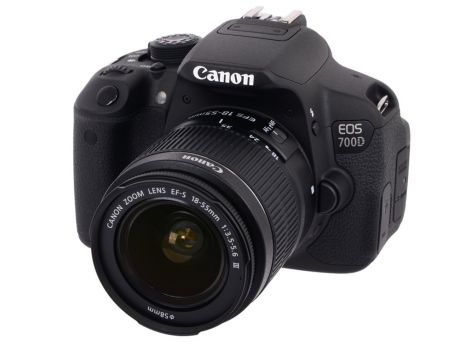 Фотоаппарат Canon EOS 700D Kit 18-55 DC III
