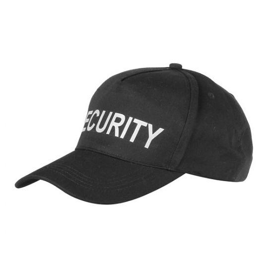 Бейсболка с надписью  SECURYTI