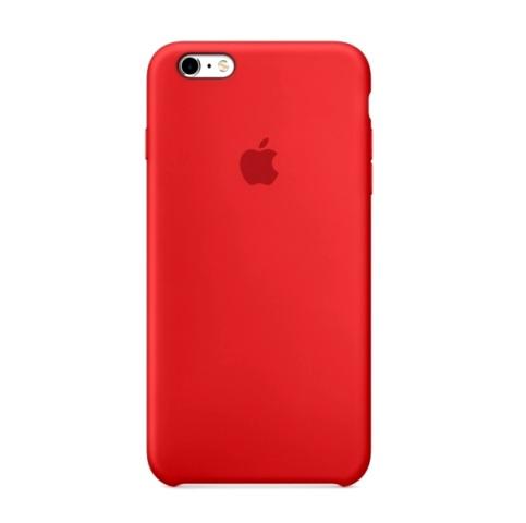 Силиконовый чехол Apple для iPhone 6 Plus/ 6S Plus Black