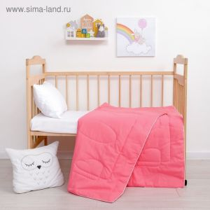 Одеяло Крошка Я цв. розовый, 110*140 см, хлопок/синтепон   4223984