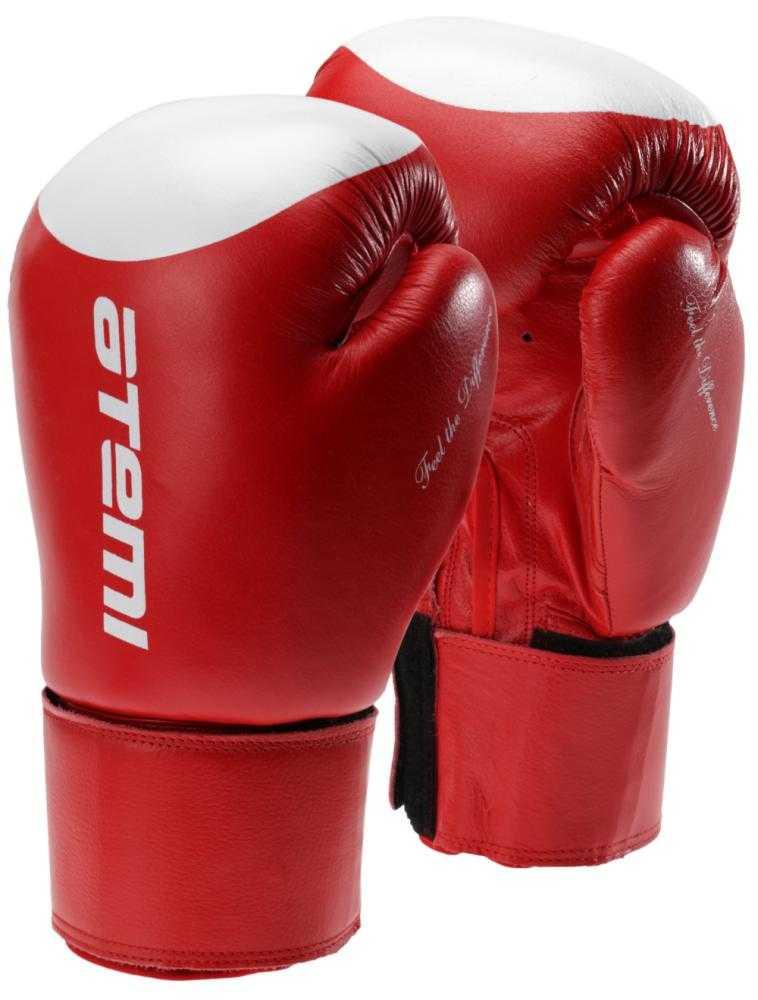 Перчатки боксерские ATEMI красно-белые LTB19009