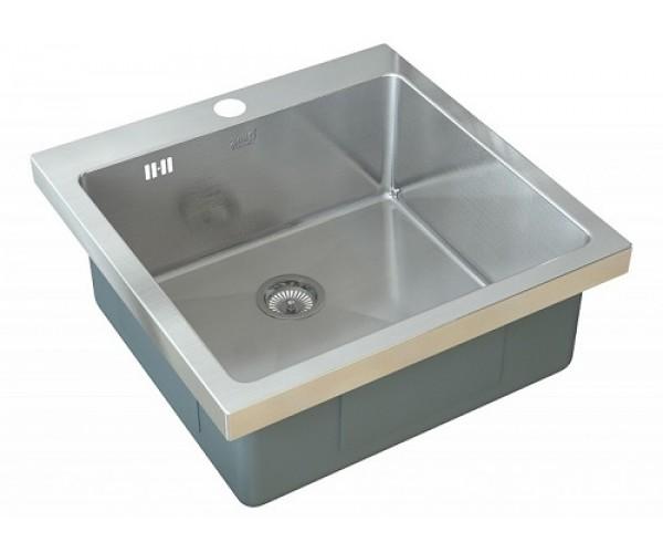 Врезная кухонная мойка ZorG INOX HR-5151 HR