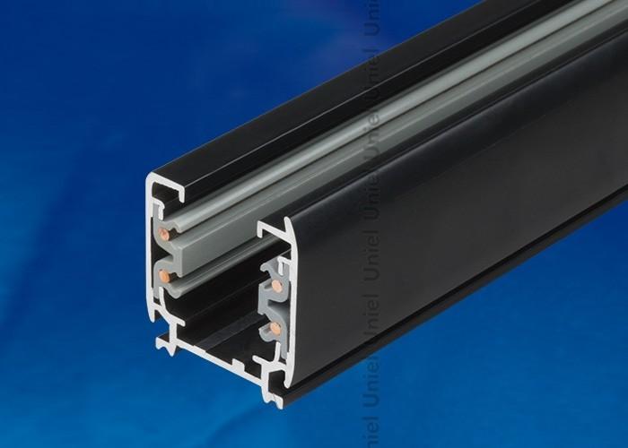 Шинопровод осветительный 3-фазный Uniel черный L=2м UBX-AS4 BLACK 200 POLYBAG