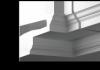 Внутренний Угол Европласт Фасадный 4.31.121 Ш410хВ183хГ410 мм
