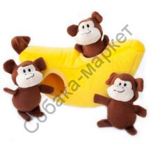Игрушка-головоломка Обезьянки в банане