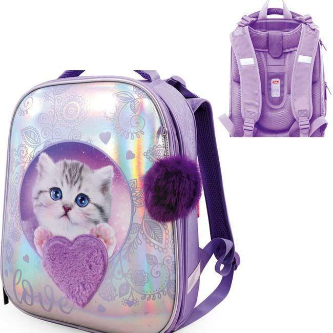 Рюкзак ERGONOMIC Glamour kitten Hatber