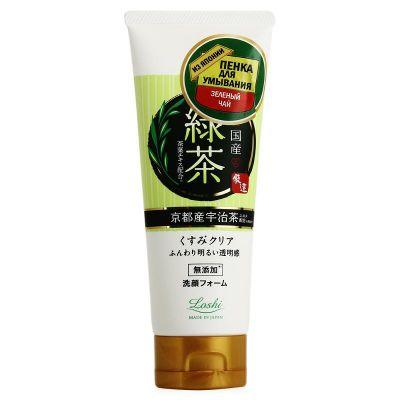 Cosmetex Roland Loshi Пенка для умывания увлажняющая с экстрактом зеленого чая 120 гр