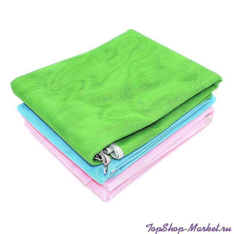 Пляжный коврик SAND FREE MAT, 200х150 см, Цвет: Голубой