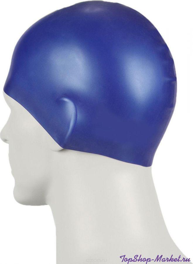 Силиконовая шапочка для плавания Afiter, Цвет: Голубой