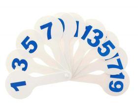 Веер цифры (арт. ВЦ-100-1)