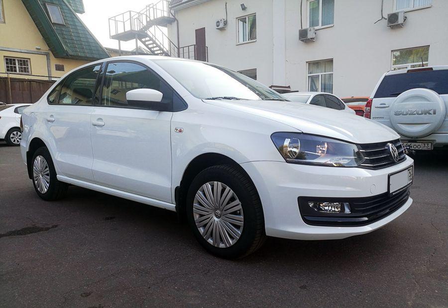 Volkswagen Polo 2019 г. Автомат (белый)