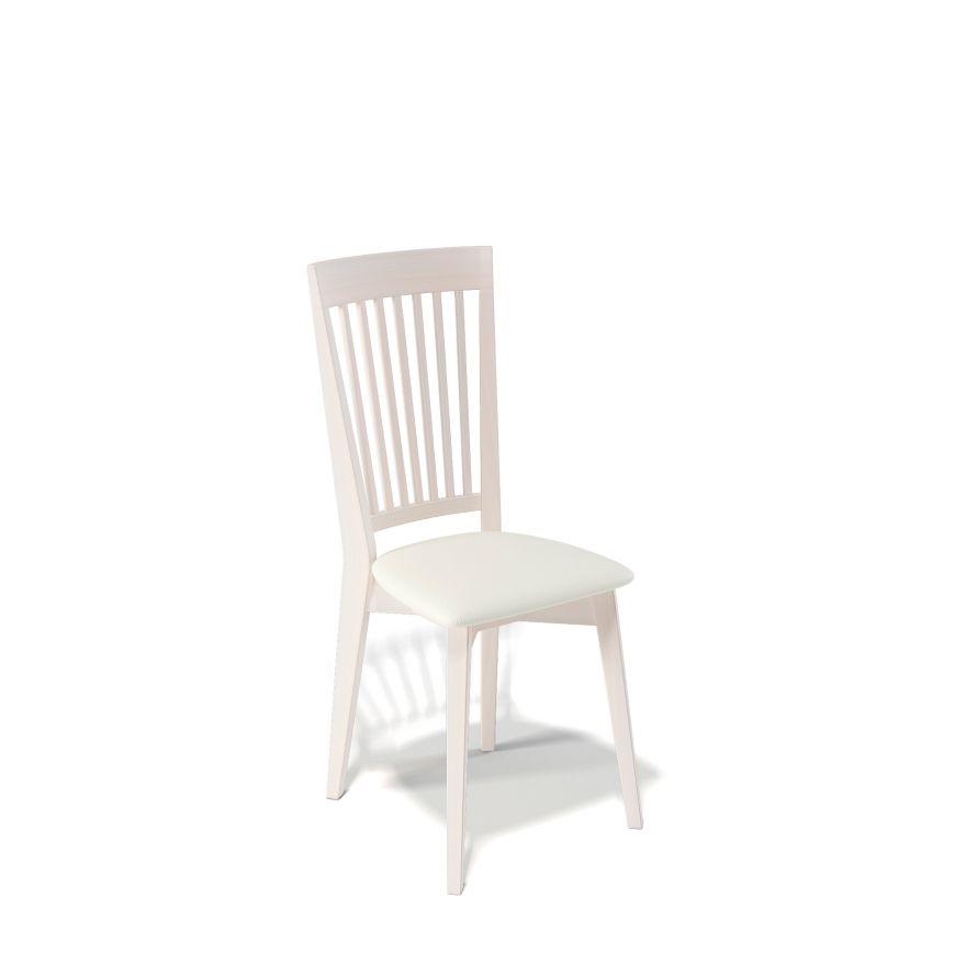 Деревянный стул KENNER 110М, с мягким сиденьем, цвет бук - крем