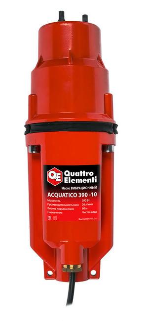 Насос Quattro Elementi Acquatico 390 (кабель 10 м)