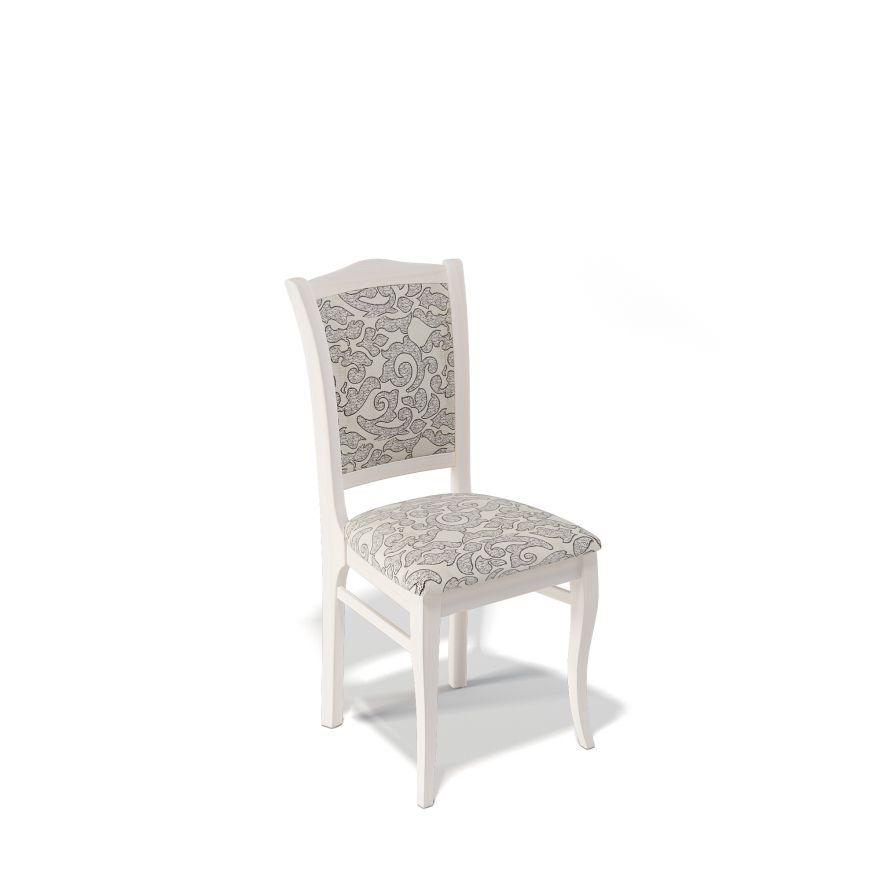 Деревянный стул KENNER 111С, с мягким сиденьем и спинкой