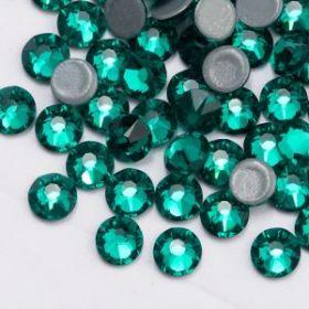 Стразы термоклеевые (стекло) ss-20 изумрудный (25гр)