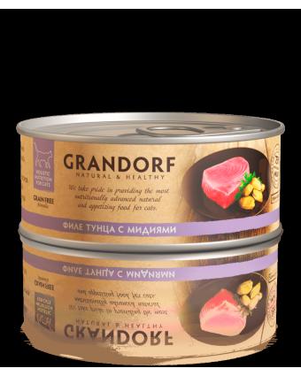GRANDORF д/к филе тунца с мидиями