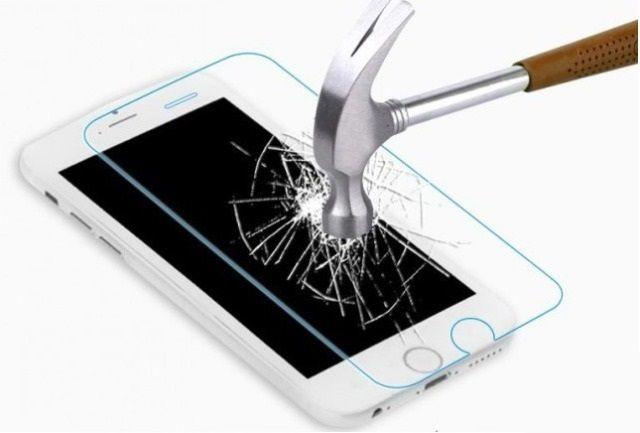 Защитное стекло Samsung J330F Galaxy J3 (2017) (бронестекло, 3D gold)