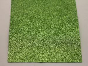 """Фоамиран """"глиттерный"""" Китай, толщина 2 мм, размер 20x30 см, цвет № Ф015 (1 уп = 10 листов)"""