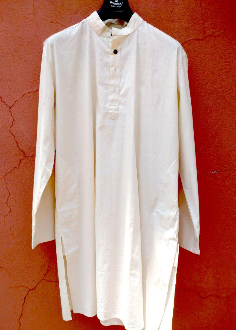 Мужская курта из органического хлопка на заказ (отправка из Индии)