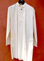 Мужские курты на большие размеры или высокий рост. Пошив на заказ из натурального хлопка.