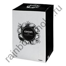 Уголь кокосовый для кальяна Cocos 25мм (72шт)
