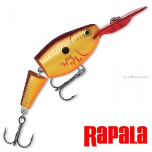 Воблер RapaIa Jointed Shad Rap JSR07 70 мм / 13 гр / Заглубление: 2,1 - 4,5 м / цвет: BCF