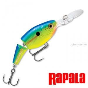 Воблер RapaIa Jointed Shad Rap JSR07 70 мм / 13 гр / Заглубление: 2,1 - 4,5 м / цвет: PRT