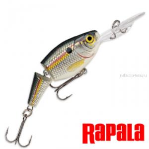 Воблер RapaIa Jointed Shad Rap JSR07 70 мм / 13 гр / Заглубление: 2,1 - 4,5 м / цвет: SD