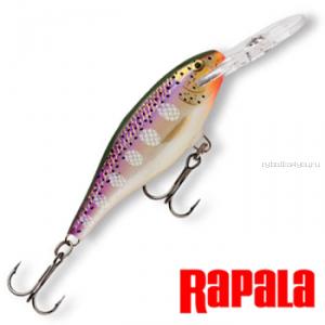 Воблер RapaIa Shad Rap SR09 90 мм / 15 гр / Заглубление: 2,4 - 4,5 м / цвет: PD