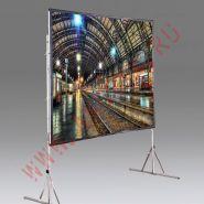 """Мобильный проекционный экран Draper Cinefold NTSC (3:4) 305/120"""" 173*234 XT1000V (MW)"""