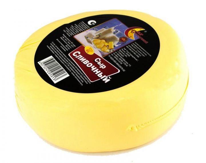 Сыр Сливочный 50% 1кг Стародубский