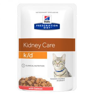 Hill's Prescription Diet Feline k/d Salmon 85 гр.