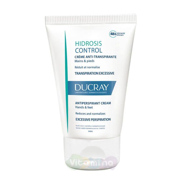 Ducray Hidrosis Control Дезодорант-крем для рук и ног, регулирующий избыточное потоотделение