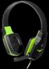 Игровая гарнитура Warhead G-320 черный+зеленый, кабель 1.8 м