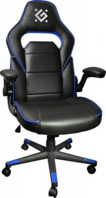Игровое кресло Corsair CL-361 Черный/Синий,полиуретан,50мм