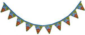 Гирлянда бумажная для детского праздника